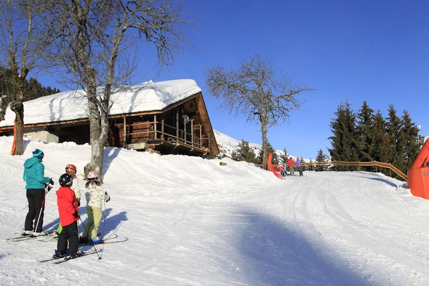 Domaine ski alpin les Saisies chalet de montagne