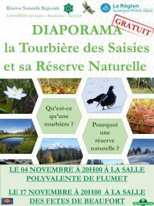 Diaporamas tourbière automne 2016