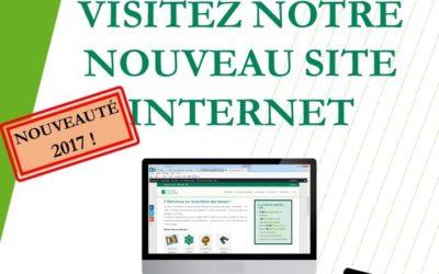 NOUVEAU : surfez sur le site internet de la réserve naturelle !